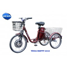HAPPY (Red) (трицикл) + реверс!
