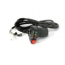 Ручка газа 36v с кнопкой круиз контроль для электровелосипедов