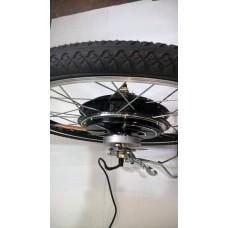 Колесо-мотор 36v 350w всборе  для электровелосипеда Свифт SWIFT 24 дюйма